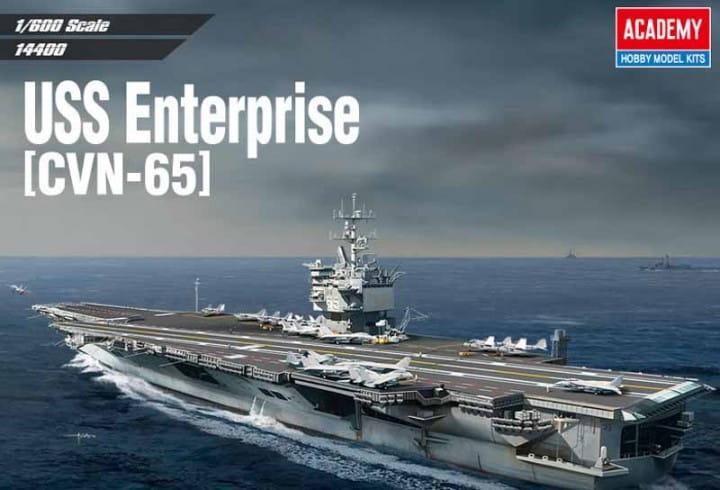 Academy USS ENTERPRISE CVN-65 / 1:600