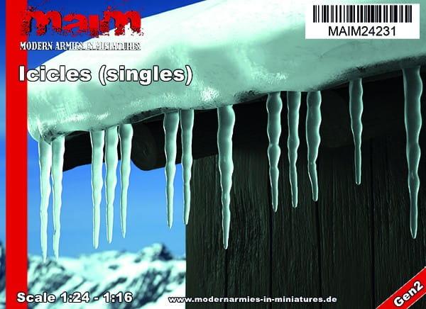 Iccicles - singles / Uniscale 1:24 - 1:16