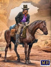 Outlaw. Gunslinger series. Kit No. 2. Gentleman Jim Jameson - Hired Gun / 1:35