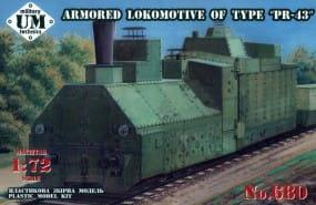 Armored locomotive of type