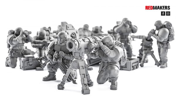 Missile Launcher - Alpha troops  - Heavy Support Squad of the Imperial Force