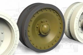 Wheels set Panther for T-34 / 1:35