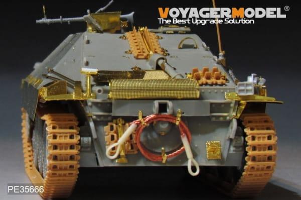 WWII German Hetzer Tank Destroyer included Metal Barrel (For DRAGON 6030) / 1:35