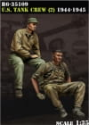 US Tank Crew (2) 1944-45 / 1:35