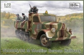 V3000S/SS M Maultier German Halftrack - Cargo Version / 1:72