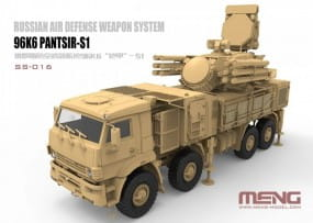 Russian Air Defense Weapon System 96K6 PANTSIR-1 / 1:35