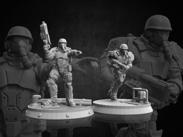 Volk Troopers - Diesel Troopers #2