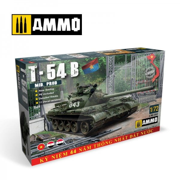 Ammo of MIG T-54B Mid Production / 1:72