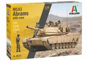 M1 Abrams m. Crew / 1:35
