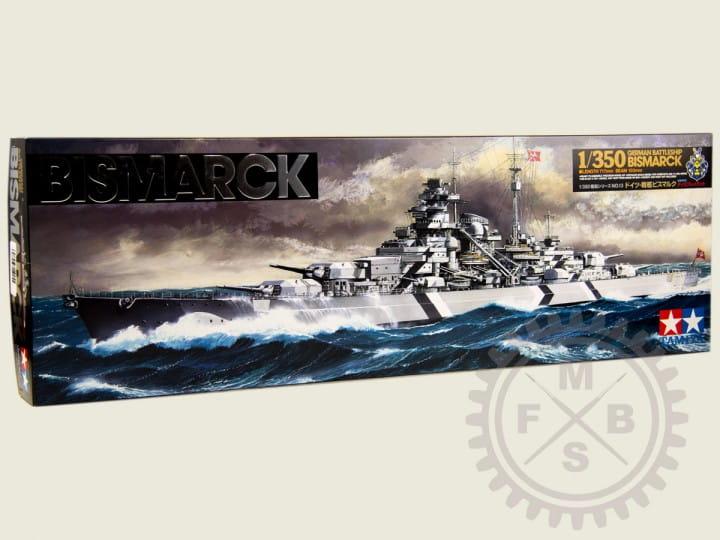 Tamiya German Battleship Bismarck / 1:350