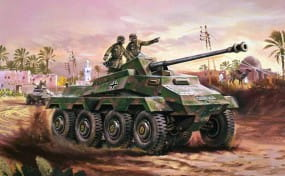 Airfix Vintage Classics - Sd.Kfz.234 - Armoured Car / 1:76