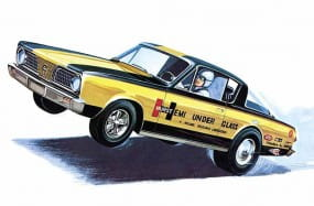 1966er Plymouth Barracuda (Hemi under Glass) / 1:25