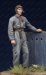 Finnish Tank Crewman WW II #1 / 1:35