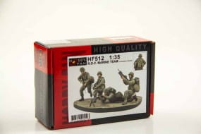 ROC Marine Corps Team with Base (4 Figuren) / 1:35