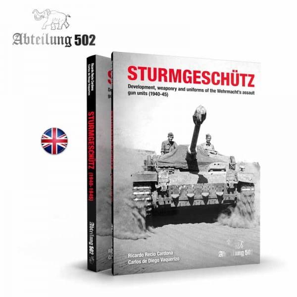 Abteilung 502 Sturmgeschütz - Book (English)