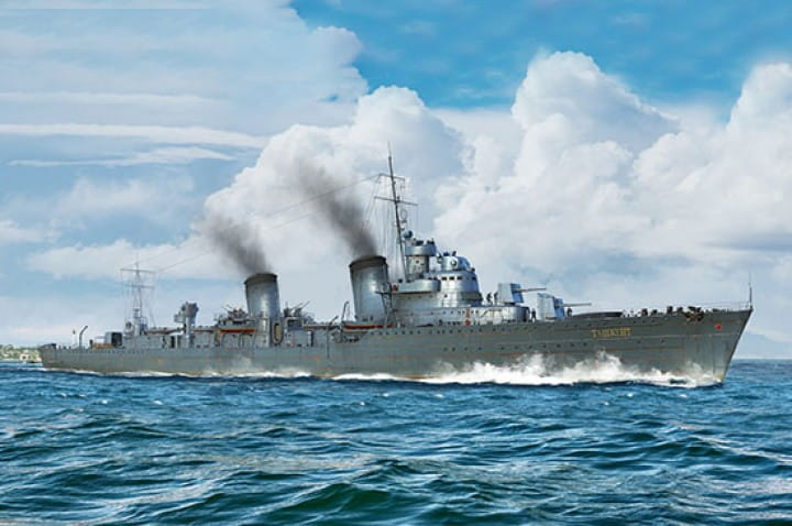 Russian Destroyer Taszkient 1940 / 1:350