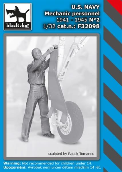 US NAVY mechanic personnel 1941-45 N°2/ 1:32