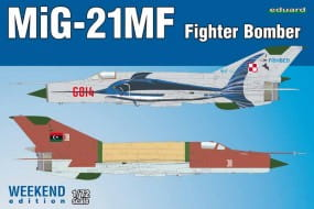 MiG-21MF Fighter-Bomber - Weekend Edition / 1:72