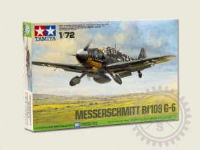 Bf-109 G-6 Messerschmitt / 1:72