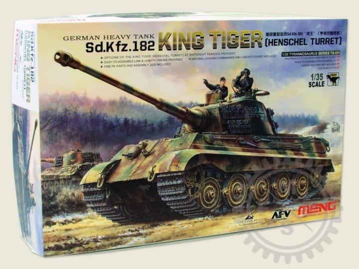 Meng Models Sd.Kfz.182 King Tiger (Henschel Turret) / 1:35