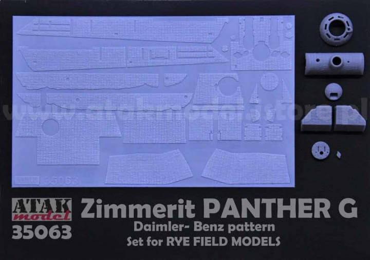 ZIMMERIT Panther G - Rye Field - / 1:35