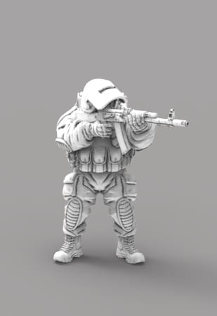 After the Fall - Stalker Guard with AK