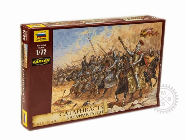 Cataphracts II B.C. - III A.D. / 1:72