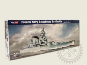 French Navy Strasbourg Battleship / 1:350
