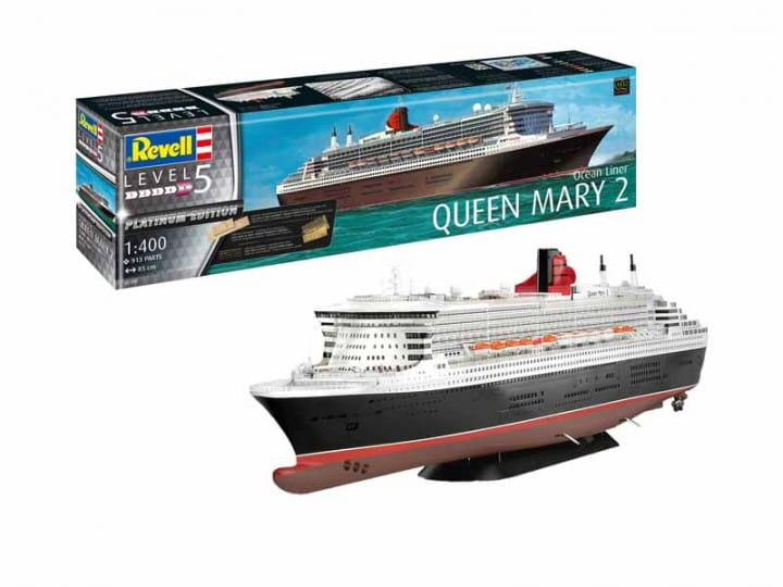 Queen Mary 2 / 1:400