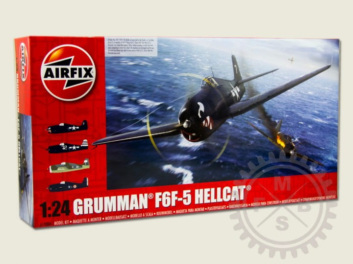 Airfix Grumman F6F-5 Hellcat / 1:24