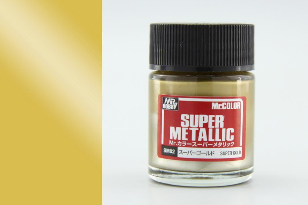 SM02 Mr. Color Super Metallic - Super Gold / 18ml