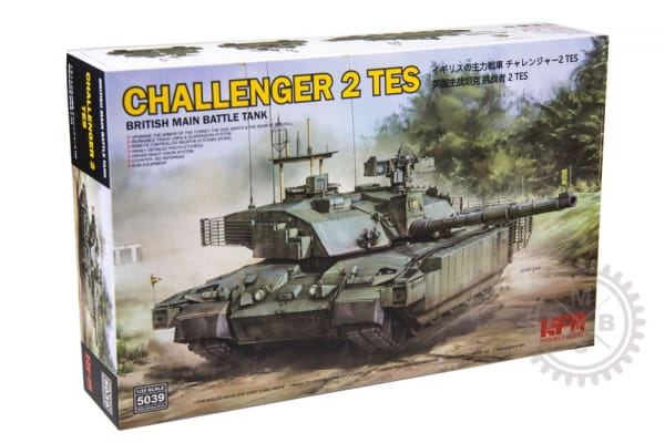 British MBT Challenger 2 TES / 1:35