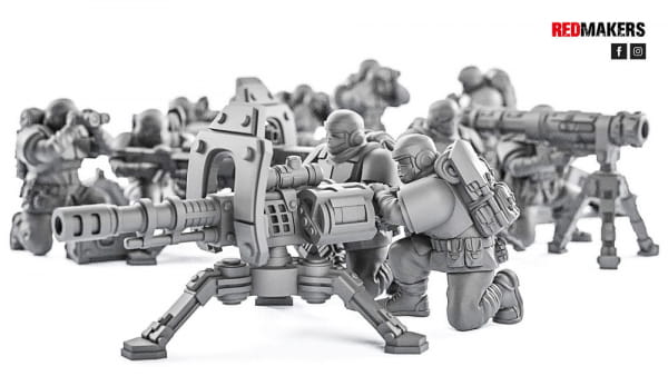 rmAutocanon - Alpha troops  - Heavy Support Squad of the Imperial Force
