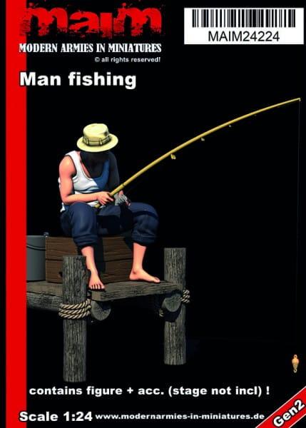 MAiM / Front46 Man fishing / 1:24