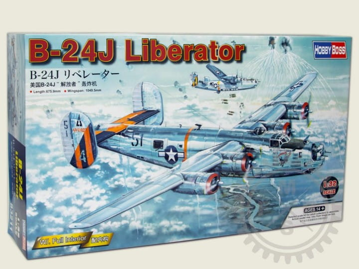 Hobby Boss US B-24J Liberator / 1:32