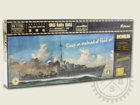 HMS Kelly 1940 -Full Hull- de Luxe Edition / 1:700