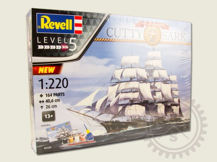Revell Cutty Sark - 150th Anniversary / 1:220