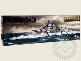 German Battleship Bismarck / 1:350