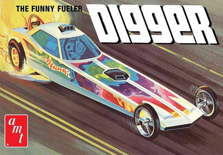 Digger Dragster Fooler Fueler / 1:25