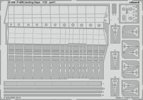 P-40N landing flaps - Trumpeter - / 1:32
