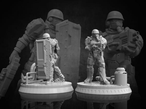 Volk Troopers - Diesel Troopers #1