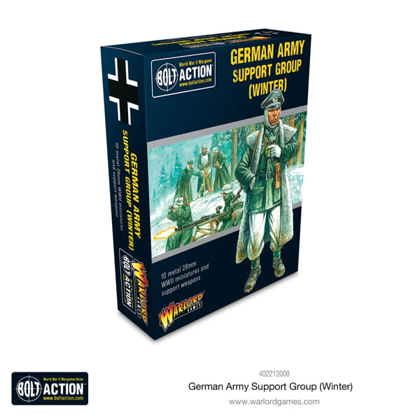 German Army Support Group Winter (HQ, Mortar & MMG)