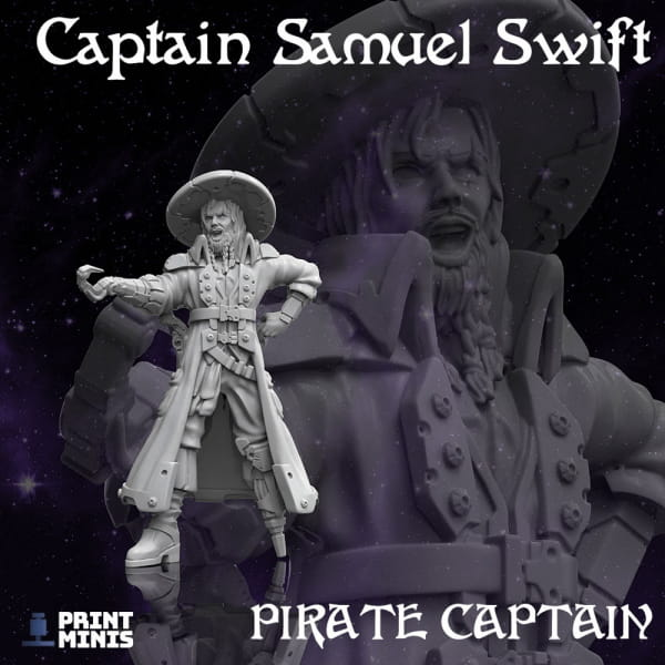Captain Samuel Swift - Space Pirates Collection