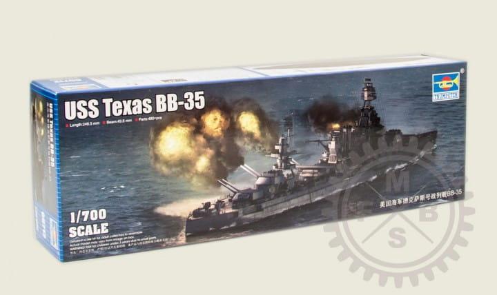 BB-35 USS Texas / 1:700