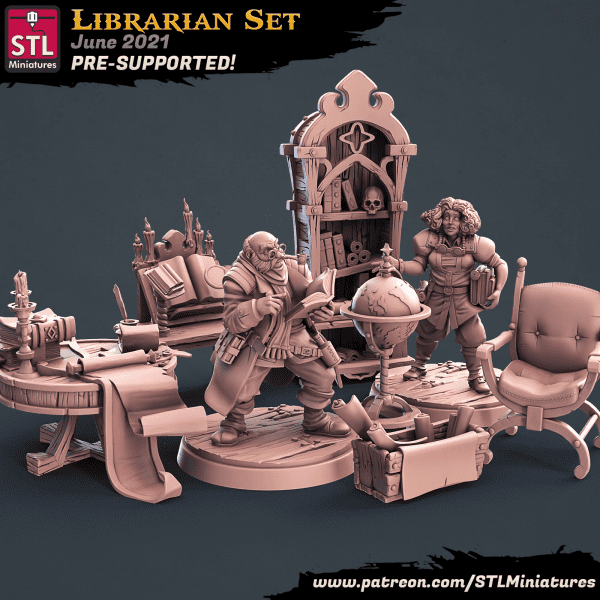 Librarian Full Set