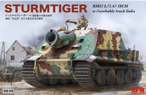 Sturmtiger with workable tracks / 1:35