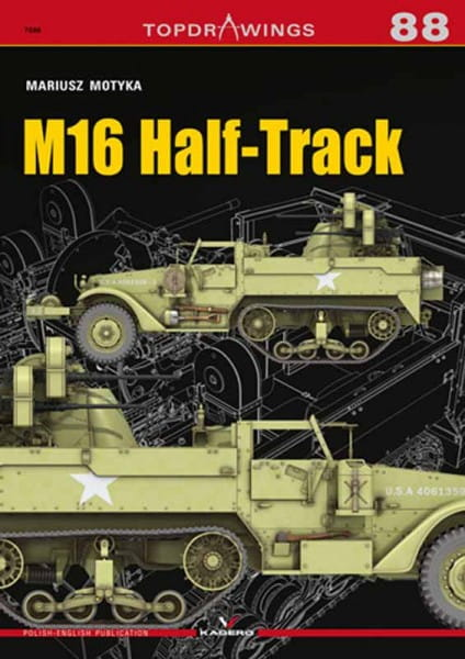 Kagero Kagero TopDrawings 88: M16 Half-Track