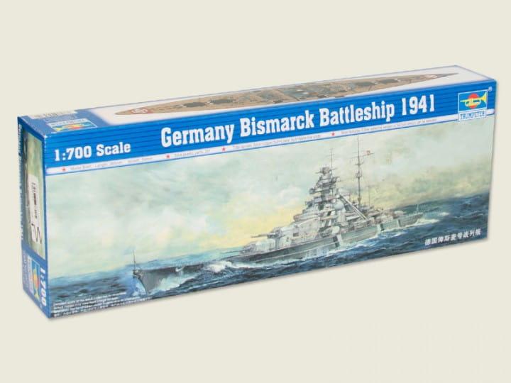 Trumpeter Bismarck 1941 / 1:700