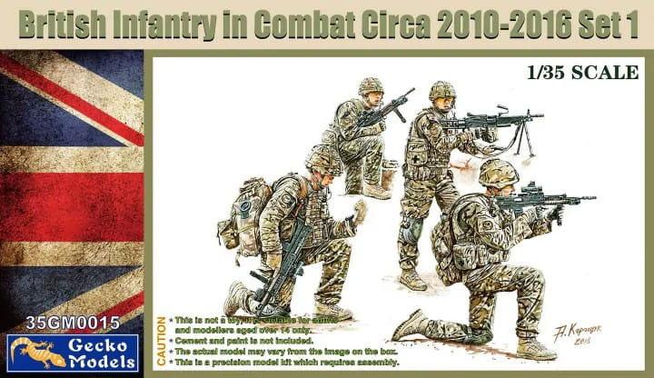 British Infantry in Combat 2010-12 Set 1 / 1:35