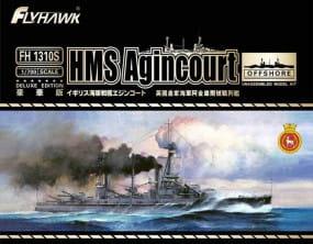 HMS Battleship Agincourt + Bonus / 1:700
